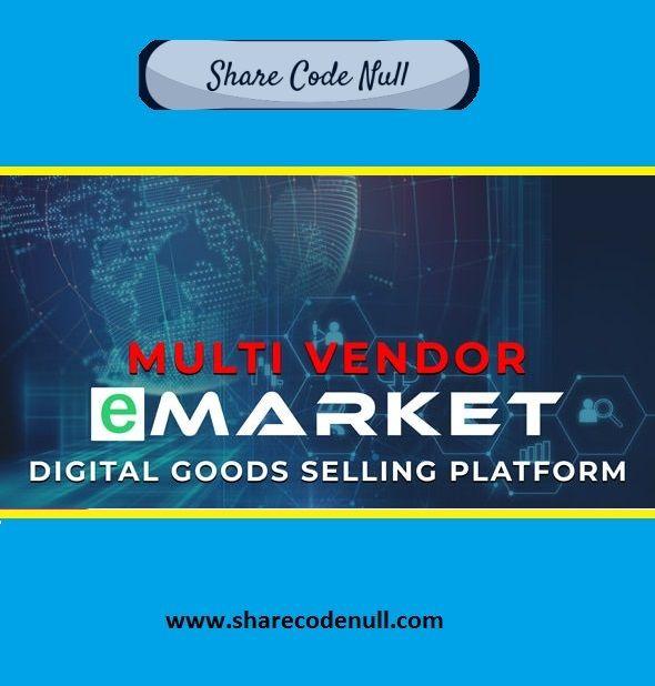 eMarket NULLED - digital goods store script