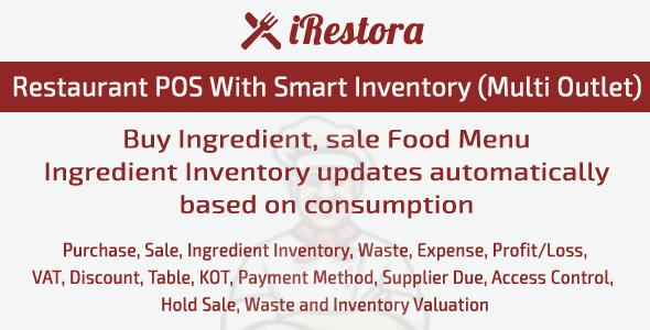 iRestora - restaurant automation script