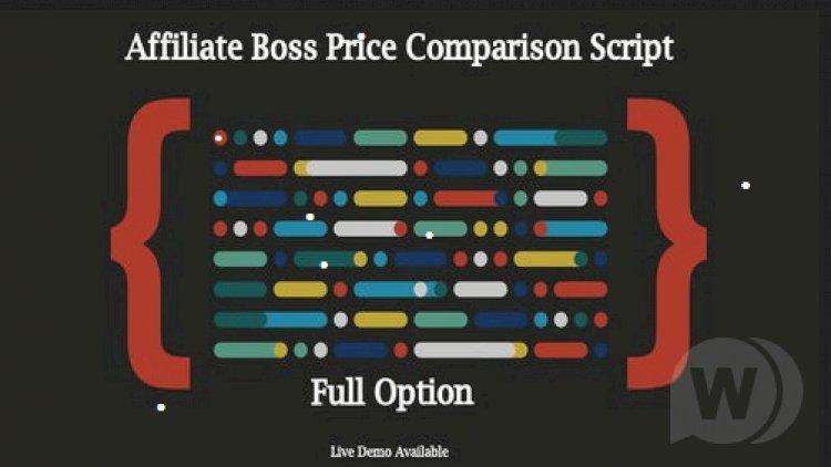 Affiliate Boss - affiliate store script