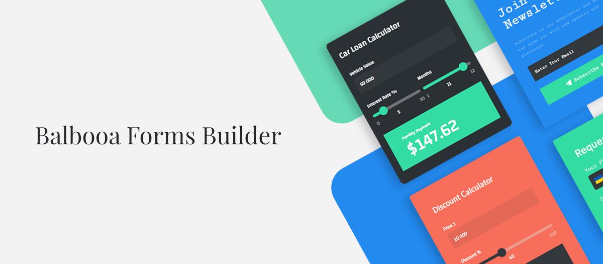 Balbooa Forms PRO v2.0.4 - form builder for Joomla