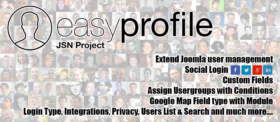 Easy Profile Pro v2.8.0 - Joomla profile view
