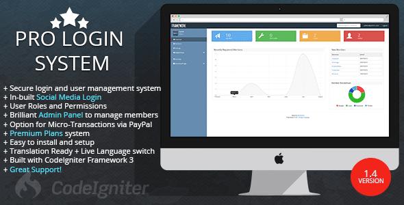 EasyLogin Pro v1.3.0 - user management system