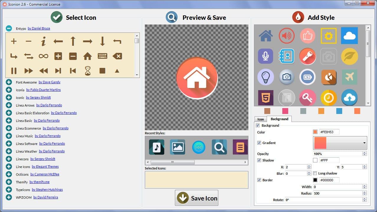 Icon Generator v1.1 - icon generator