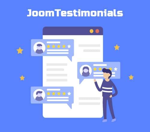JoomTestimonials v1.5.1.14 - component reviews for Joomla