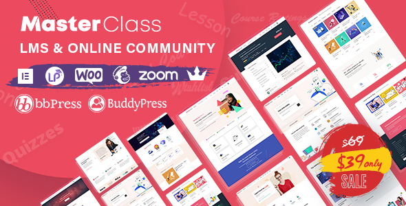 MasterClass v1.1.2 - WordPress theme for LMS and education