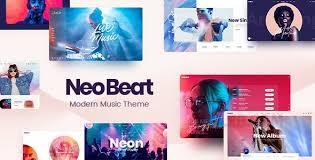 NeoBeat v1.2 NULLED - WordPress Music Theme