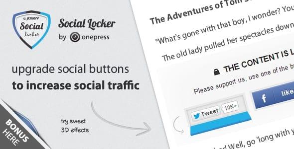Social Locker for jQuery