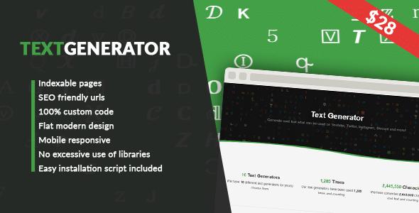 Text Generator - text generator