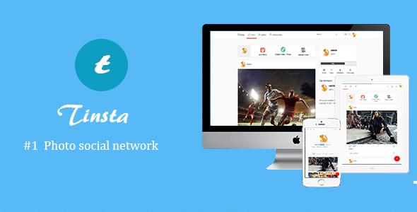 Tinsta v1.2.1 - script for sharing photos