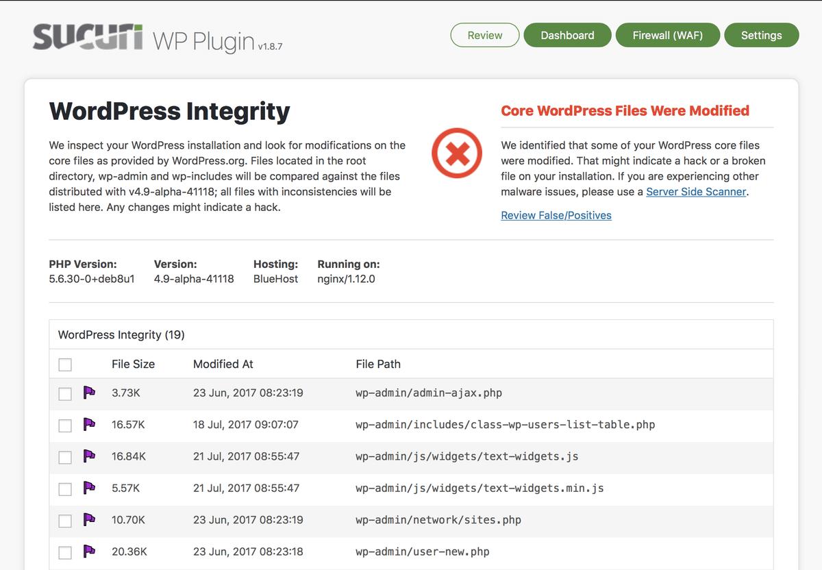 WordPress Scanner - WordPress template and plugin scanner
