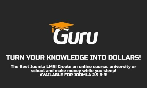 iJoomla Guru Pro v5.2.2 - component of online training for Joomla