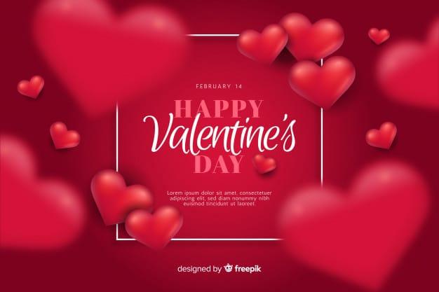 Valentine's day background Vector