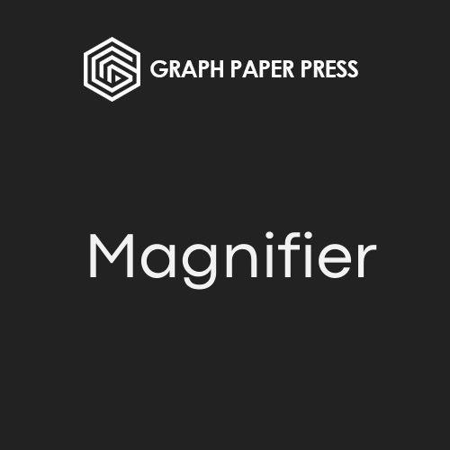 Graph Paper Press Sell Media Magnifier Addon
