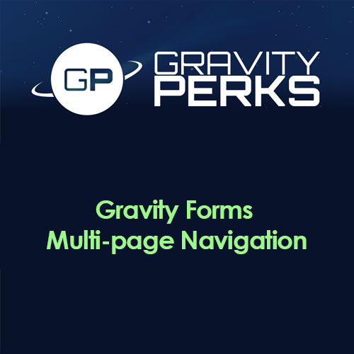 Gravity Perks Multi-page Form Navigation