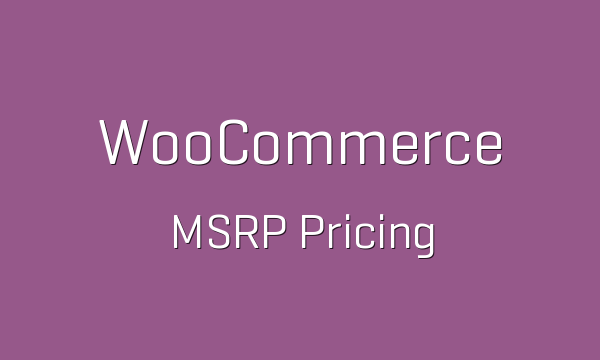 MSRP Pricing for WooCommerce
