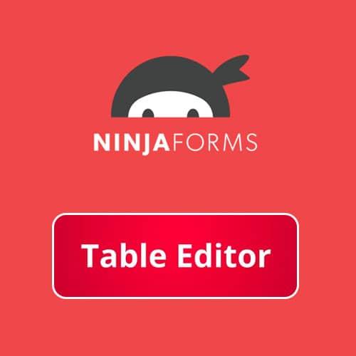 Ninja Forms Table Editor