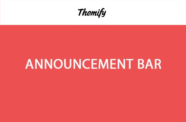 Themify Announcement Bar WordPress Plugin 2.0.7