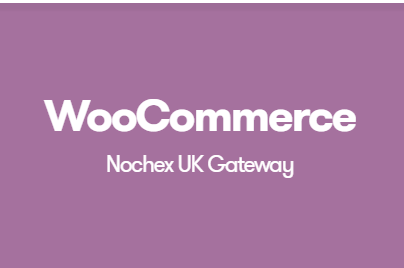 WooCommerce Nochex UK Gateway
