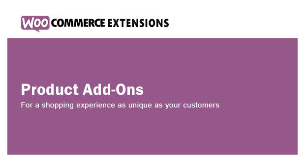 WooCommerce Product Add-Ons 3.7.0