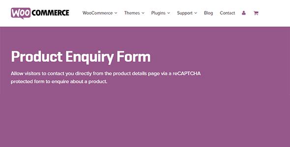 WooCommerce Product Enquiry Form 1.2.18