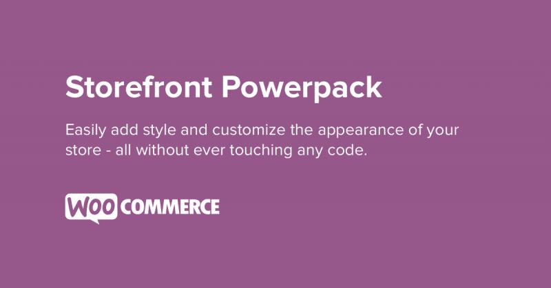 WooCommerce Storefront Powerpack 1.6.1
