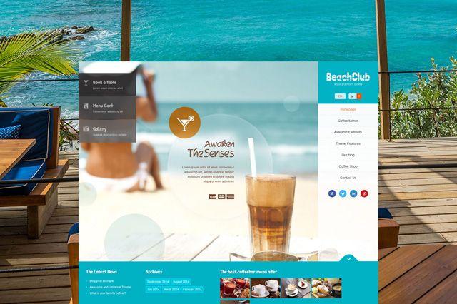 BeachClub WordPress Theme