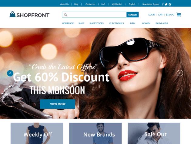 CyberChimps Shop Front