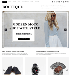 Dessign Boutique WooCommerce
