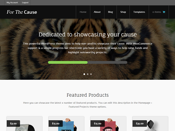 For The Cause Themes for WooCommerce