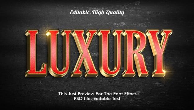 Modern styled 3d trendy, font effect Premium Psd