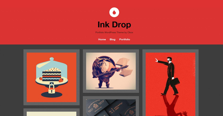 Obox Themes Ink Drop