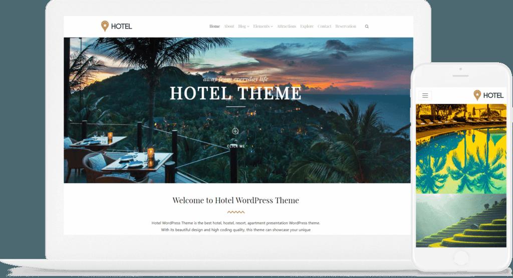 Responsive Hotel Website Builder
