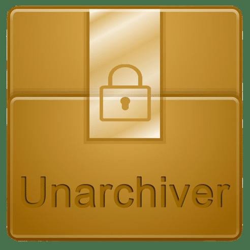The Unarchiver – Unzip RAR ZIP 3.1.3