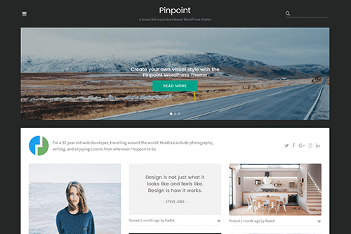 Theme Junkie Pinpoint