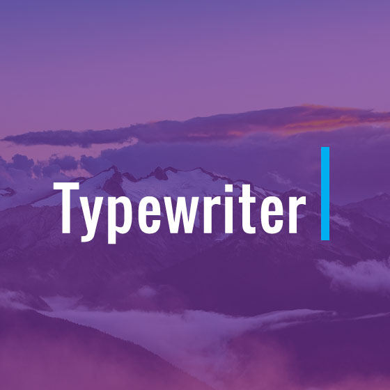 Themify Builder Typewriter