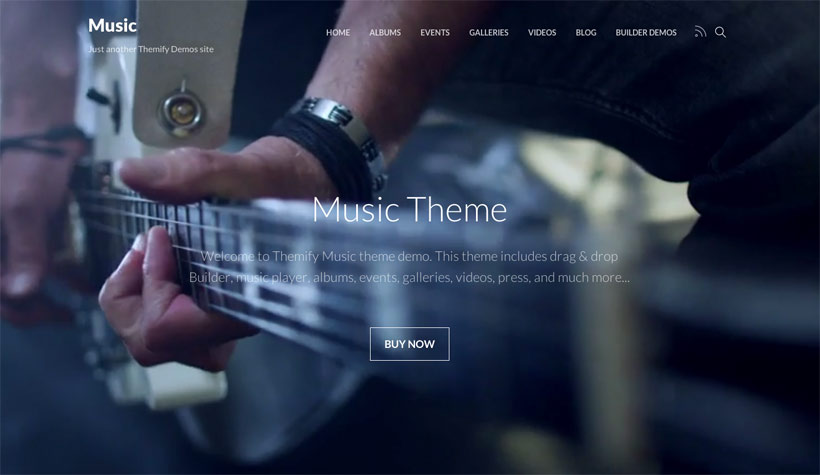 Themify Music