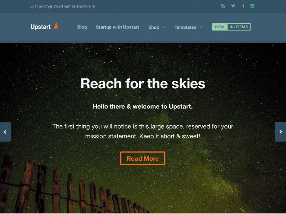 Upstart Premium Theme for WooCommerce