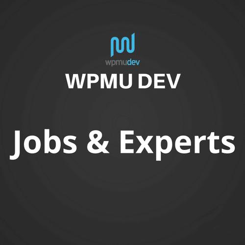 WPMU DEV Jobs and Experts 1.0.3