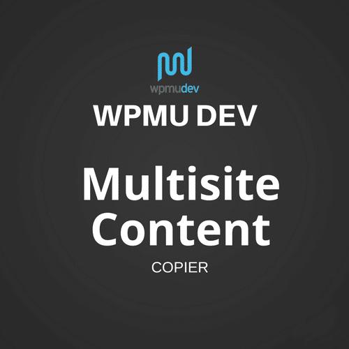 WPMU DEV Multisite Content Copier 1.5.3