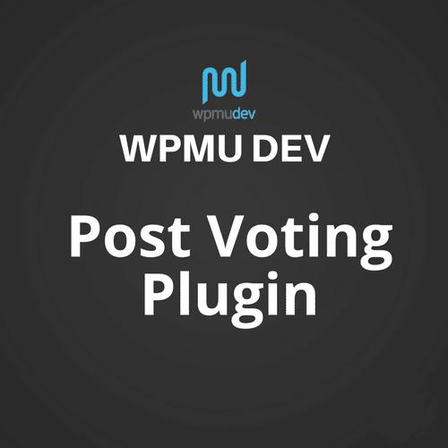 WPMU DEV Post Voting 2.2.5