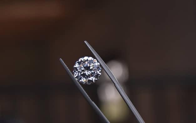 Diamonds are expensive and rare for jewelry making. Premium Photo