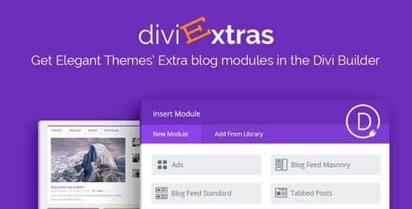 Divi Extras 1.1.7 – Extra Theme Blog Modules Added To Divi Builder