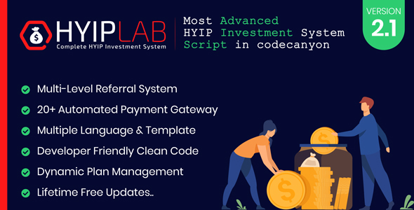 HYIPLAB – Complete HYIP Investment System