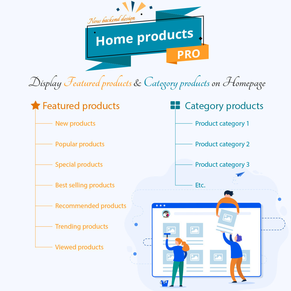 Home Products PRO module