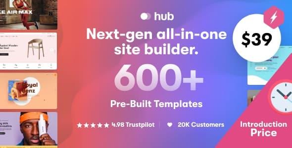 Hub 1.1.1 – Responsive Multi-Purpose WordPress Theme