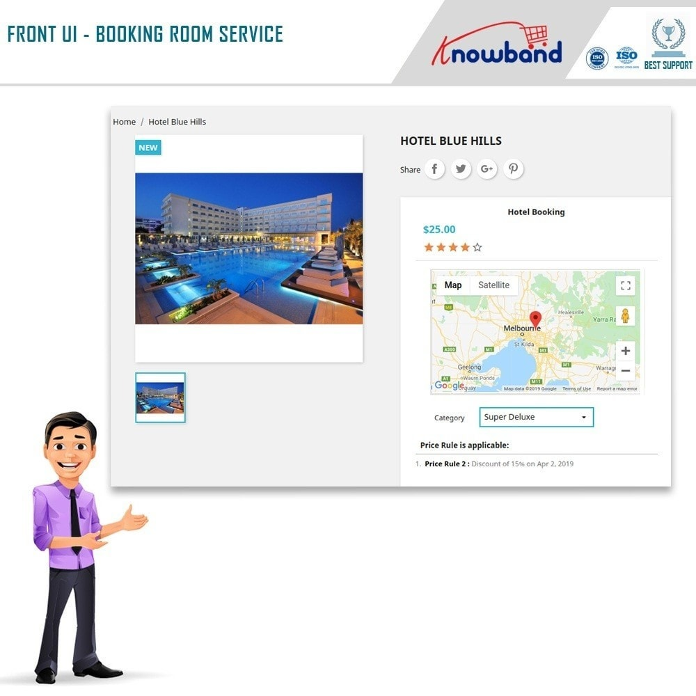 Knowband Module - Booking and Rental System