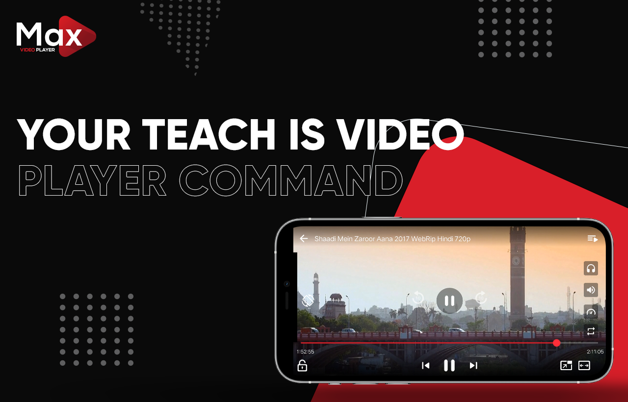 MAX Video Player - Android Video Player With AdMob - All Format Video Player(Android 11 Supported)