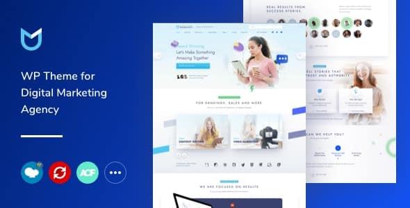 NanoText - Digital Marketing WordPress Theme