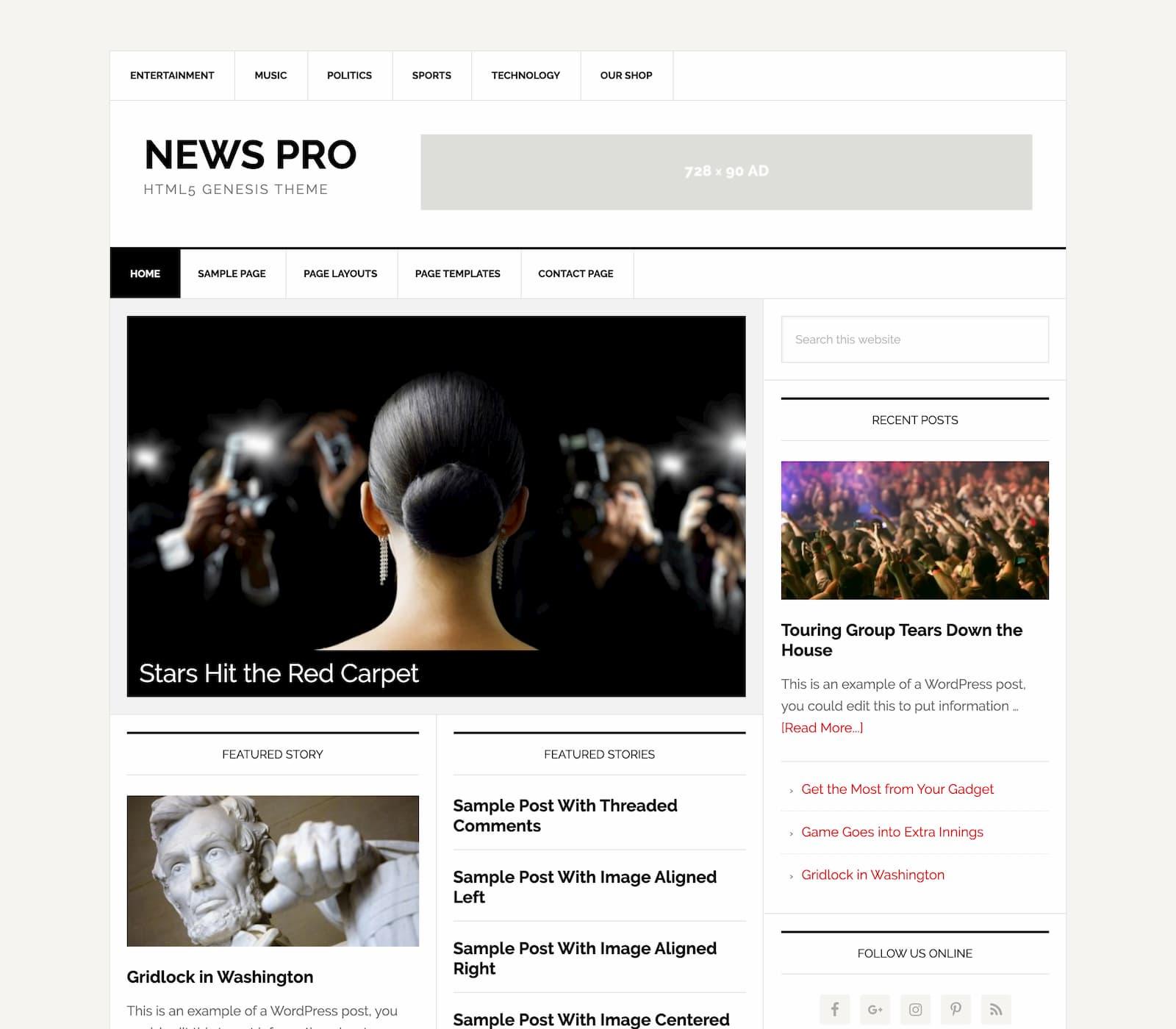 News Pro Genesis