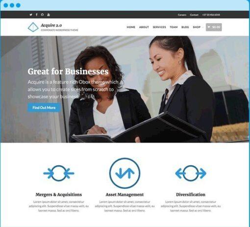 OboxThemes Acquire